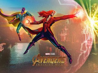 Fandango Avengers Infinity War Posters wallpaper
