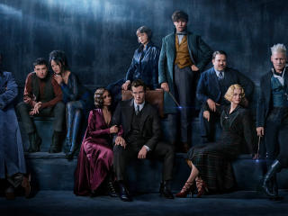 Fantastic Beasts The Crimes Of Grindelwald Cast Poster 2018 wallpaper