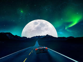 Fantasy Road wallpaper