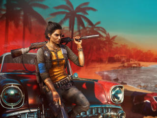 Far Cry 6 Female Character wallpaper