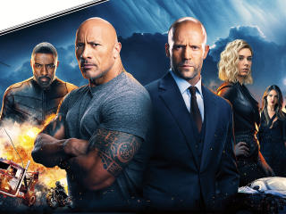HD Wallpaper | Background Image Fast and Furious Hobbs & Shaw
