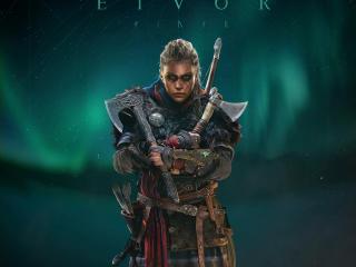 Female Eivor Assassins Creed Valhalla wallpaper