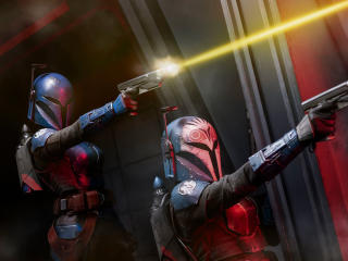 Female Mandalorian Chapter 11 wallpaper