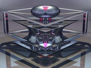 figure, metal, shape wallpaper