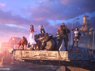Final Fantasy 7 Remake Team wallpaper