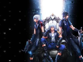 Final Fantasy Art 4K wallpaper