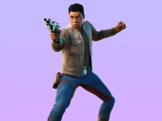 Finn Fortnite 4K wallpaper