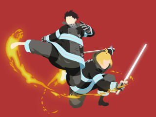 Fire Force Anime wallpaper