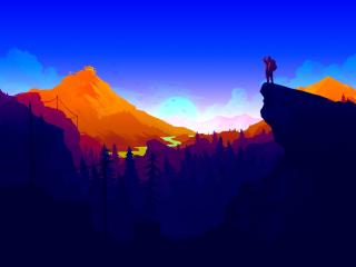 HD Wallpaper | Background Image Firewatch 2017