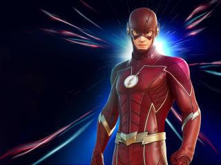 Flash 4K HD Fortnite wallpaper