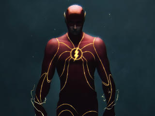 Flash Power Art wallpaper