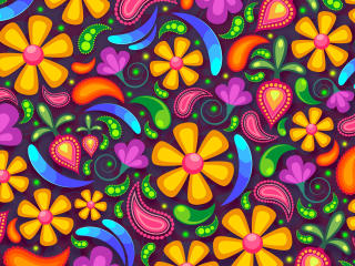 Flower 4K Pattern wallpaper
