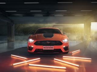 Ford Mustang Mach 1 4k wallpaper