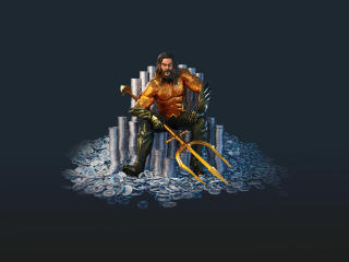 Fortnite Aquaman Skin wallpaper