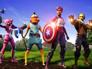 Fortnite Avengers wallpaper