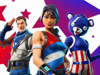 Fortnite Captain America Outfit wallpaper
