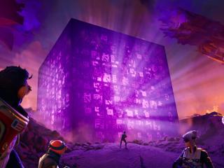 Fortnite Chapter 2 Cubes wallpaper