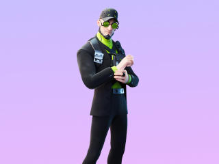 Fortnite Deadlock Skin Outfit wallpaper