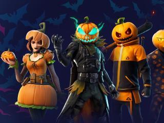 Fortnite Halloween Pumpkin wallpaper