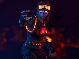 Fortnite HD Blaze wallpaper