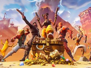 Fortnite Heroes wallpaper