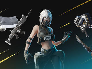 Fortnite Hush Skin 2021 wallpaper