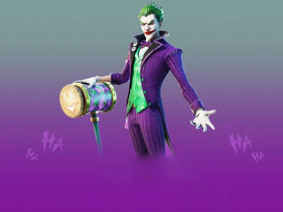 Fortnite Joker wallpaper