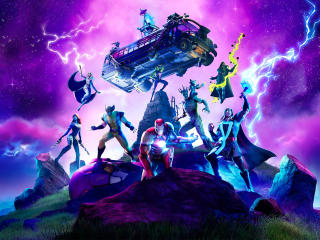 Fortnite Marvel Standoff wallpaper