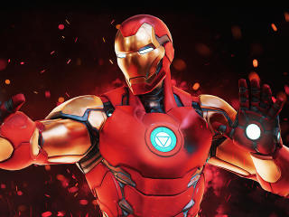Fortnite Marvels Iron Man wallpaper