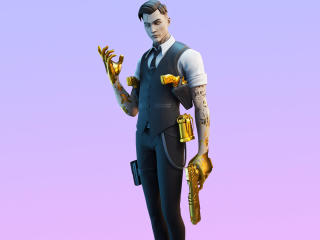 Fortnite Midas Skin 4K Outfit wallpaper