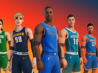 Fortnite NBA Team wallpaper