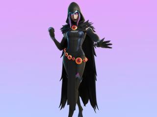 Fortnite New Rebirth Raven Outfit Skin wallpaper