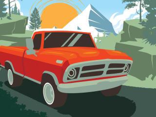 Fortnite OG Bear Car wallpaper