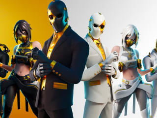 Fortnite Shadow And Ghost Team wallpaper