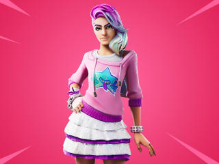 Fortnite Starlie Outfit wallpaper