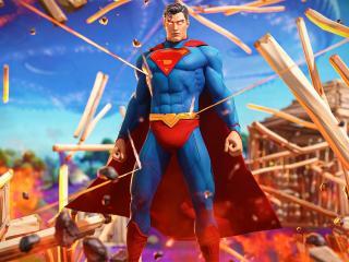 Fortnite Superman wallpaper