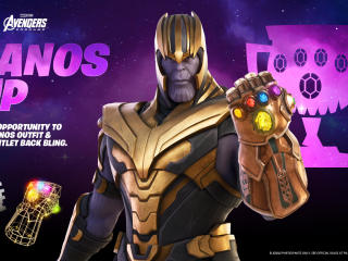 Fortnite Thanos Cup wallpaper
