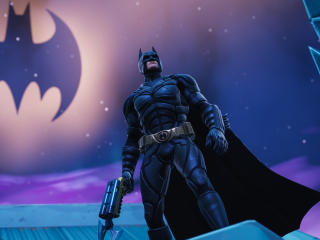 Fortnite X Batman wallpaper