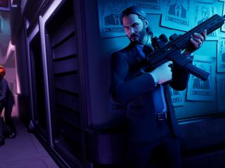 Fortnite x John Wick wallpaper