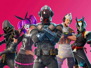 Fortnite XIV Cool Skins wallpaper