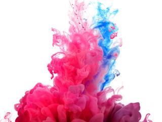 fractal, paint, light wallpaper