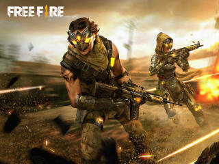 Free Fire Warrior Skin wallpaper