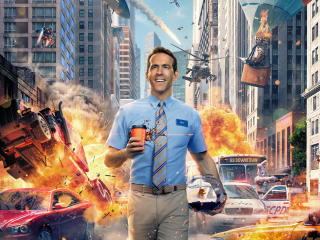 Free Guy Ryan Reynolds wallpaper