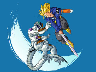 Freeza vs Trunks Dragon Ball wallpaper