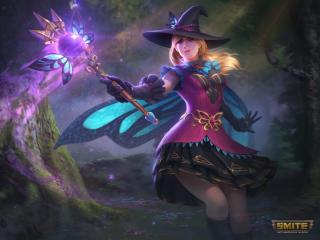 Freya Smite Game wallpaper