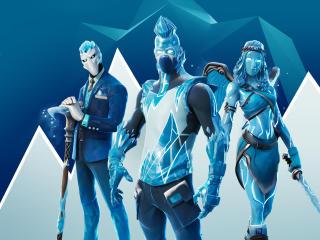 Frost Legends Fortnite wallpaper