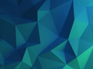 Frosty Blue Polygon wallpaper
