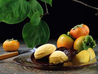 fruit, ripe, plate wallpaper