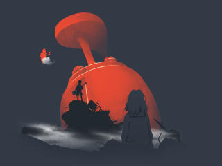 Furi Kuri Anime Artwork wallpaper