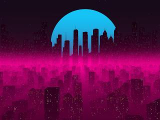 Futuristic 4K Cityscape wallpaper